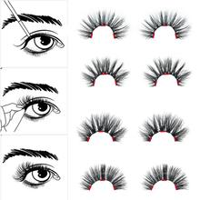 Magnetic Liquid Eyeliner With A Three-magnetic 1 pair False Eyelashes Waterproof Natural