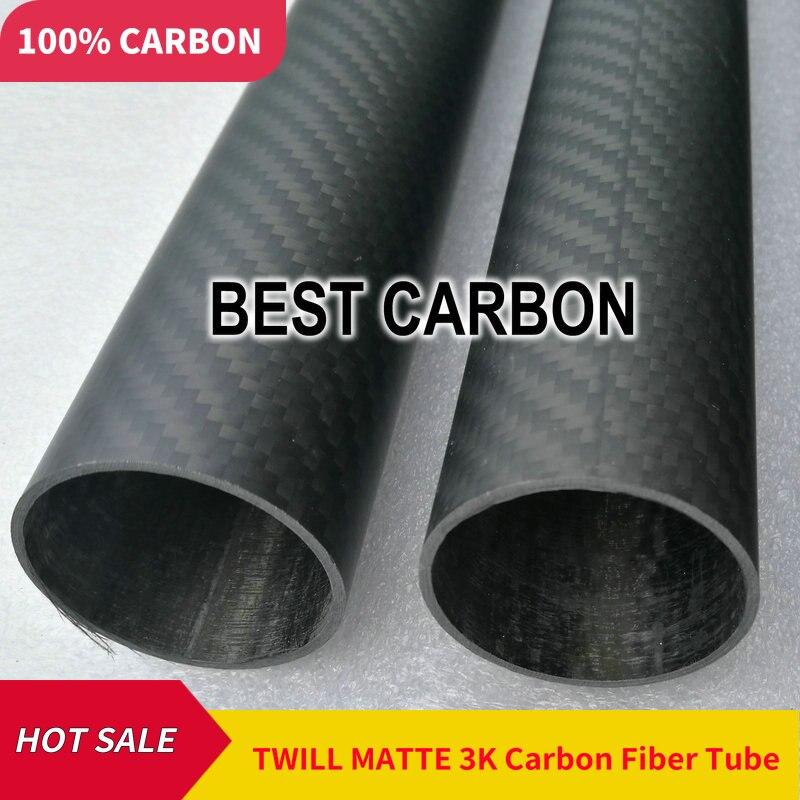 3 pièces de 18mm x 14mm x 1000mm haute qualité 3 K Fiber de carbone plaine tissu enroulé/enroulé/tissé Tube carbone queue Boom-in Pièces et accessoires from Jeux et loisirs    2