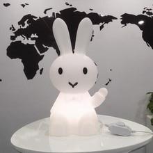 36 ซม.การ์ตูนกระต่ายกระต่ายกระต่ายโคมไฟLed Night Lightสำหรับเด็กของขวัญห้องนั่งเล่นข้างเตียงโต๊ะDimmableเด็กLight