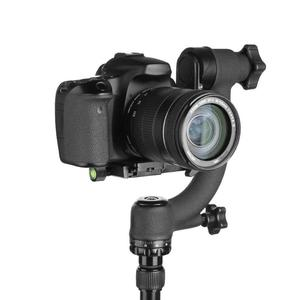Image 4 - Profesjonalny 360 stopni panoramiczny głowica Gimbal Pan Tilt statyw aluminiowy głowica płyta szybkiego uwalniania dla DSLR teleobiektyw do aparatu