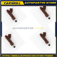 4x Fuel Injector 23250 500602325050060 SC430 LS400 LS43 05 09 Car styling Nozzle Engine Injection Injector Kit for Toyota Lexus