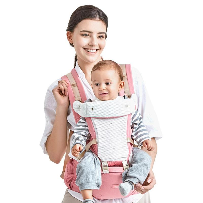 Backpacks & Carriers Newborn Baby Carrier Adjustable Infant Front Facing Hipseat Prevent O-type Legs Ergonomic Sling Backpacks Kid Position Lap Strap