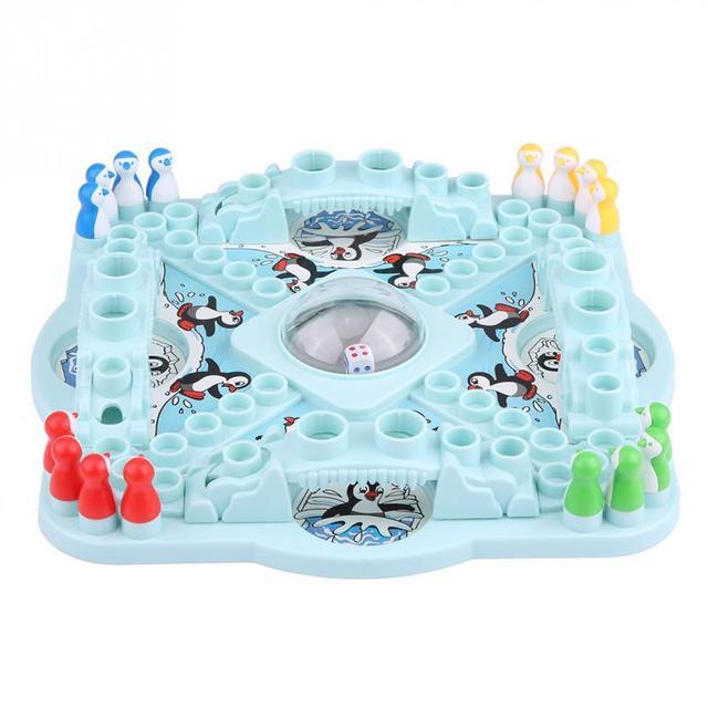 Смешно Настольный конкурс падение Пингвины доска для игрушек шахматы родитель-ребенок смешная игра головоломка классические настольные игрушки