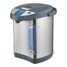 Термопот MYSTERY MTP-2453 (Мощность 700 Вт, объем 4 л, Закрытый нагревательный элемент, Шкала уровня воды с подсветкой, Отключение при недостаточном количестве воды, 2 способа налива воды, режим поддержания температур