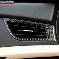 Auto accessories interior Carbon Fiber Trim Stickers Car Side Air Outlet Frame Cover For BMW Z4 E89 2009 2015 Series Car Styling
