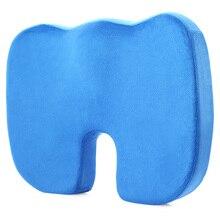 Travel Seat Cushion Coccyx Orthopedic Memory Foam U Seat Massage Chair Cushion Pad Car Office Massage Cushion Home Textile