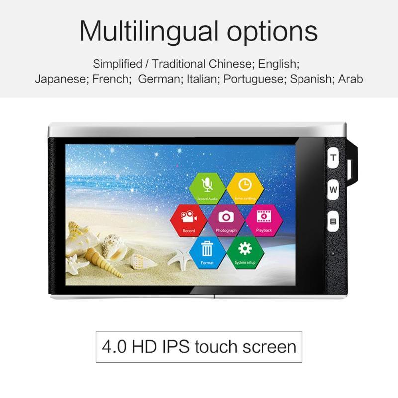 X9 4.0 pouces écran 12X Zoom optique 1080 P 24MP appareil photo reflex numérique caméscope enregistreur vidéo