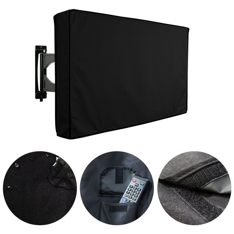 Waterproof Outdoor TV Cover 600D Oxford Fabric LED LCD Telev