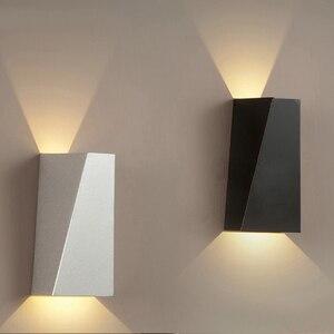 Waterproof Outdoor wall lighting IP65 Modern Indoor Lamps coloful Decorative lighting Porch Garden Lights Aluminum AC90-260V