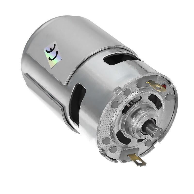 1 pc dc 24 v 21000 rpm de alta velocidade grande torque dc 775 motor elétrico ferramenta elétrica novo motor & acessórios dc motor