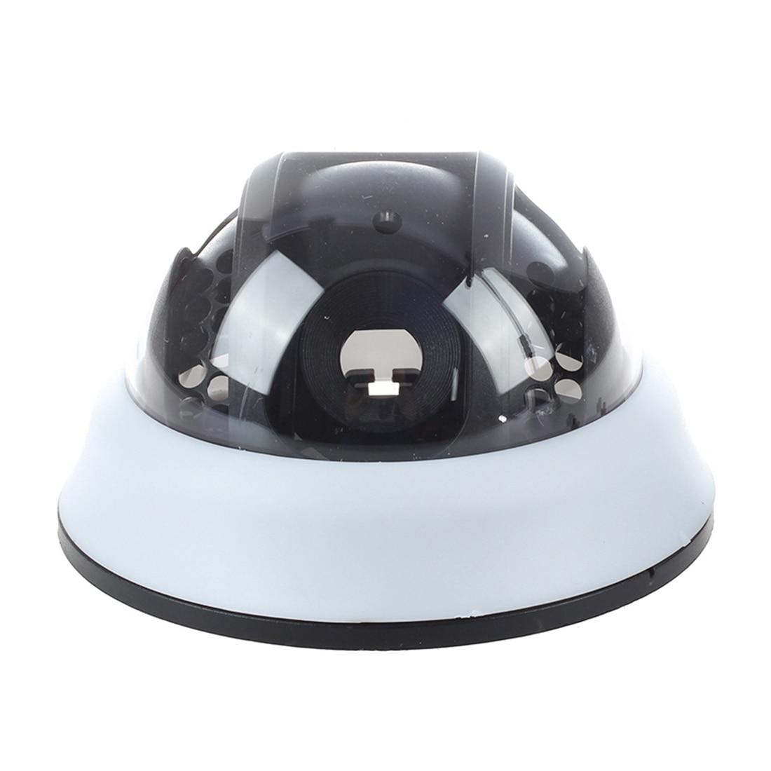 Outdoor CCTV Camera Black White Plastic Shell Round Dome HousingOutdoor CCTV Camera Black White Plastic Shell Round Dome Housing