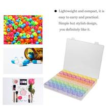 Organizer Pill-Box Case Splitters Nail-Art-Storage New Container 56 Jewelry Grids