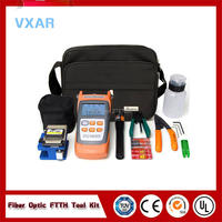 FTTH Tool Kit with FC 6S Fiber Cleaver ,FTTH Fast Connector Fiber Optic Termination Tool Kit