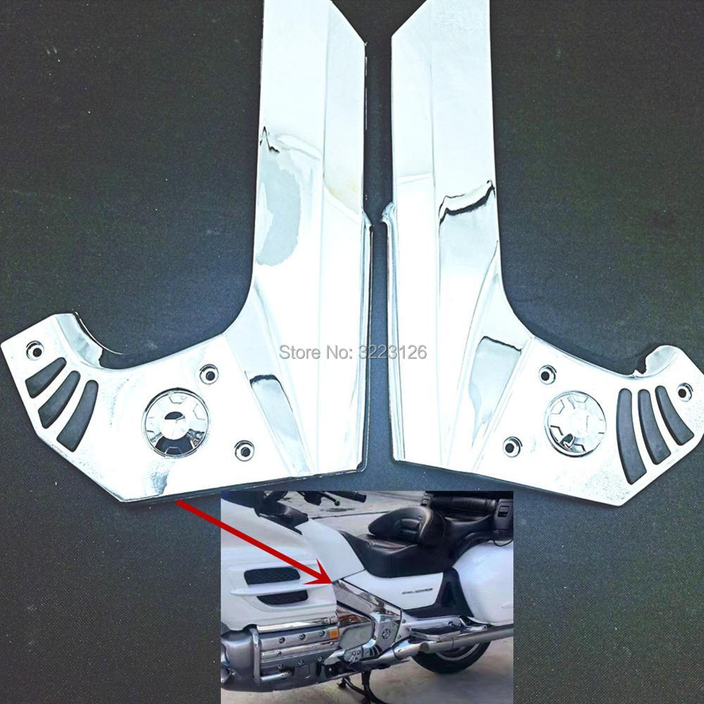 Motorcycle Fairing Frame Covers Frame Middle Cover Parts Decoration For Honda Gold Wing Goldwing GL1800 2001-2011 High Quality