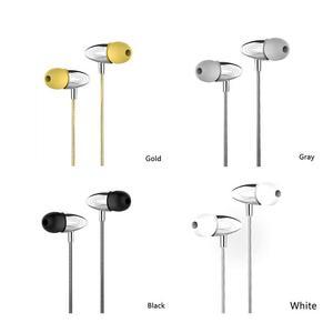 Image 5 - Auriculares portátiles Metal con cable en la oreja estilo móvil auriculares estéreo Hd sonidos dispositivos de alrededor con micrófono llamadas manos libres