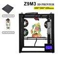 ZONESTAR completa de Metal de gran tamaño de marco de aluminio de 3D impresora DIY Kit dual extrusora de Color de la mezcla de nivel automático de grabado láser