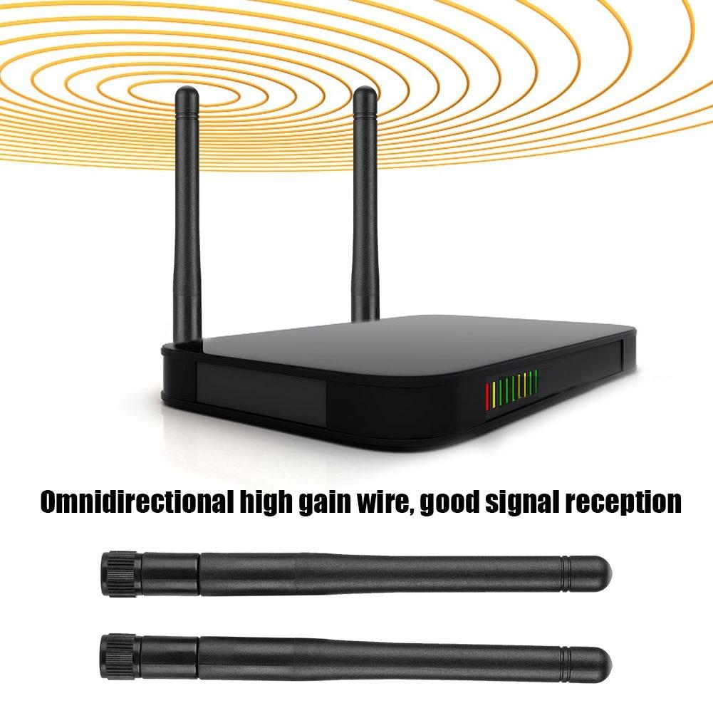network card lan adapter 2PCS Dual Band WiFi Router High Gain SMA Interface Wireless Network Card External Antenna network