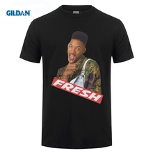 GILDAN FRESH PRINCE OF BEL AIR T SHIRT TOP WILL SMITH 90s 100% Cotton Short Sleeve O-Neck Tops Tee Middle Aged Summer T-shirt