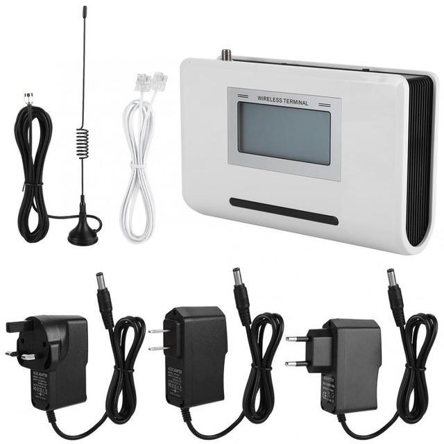 GSM Không Dây Thiết Bị Đầu Cuối Cố Định Điện Thoại Với MÀN HÌNH LCD Kết Nối Báo Động 100-240 V