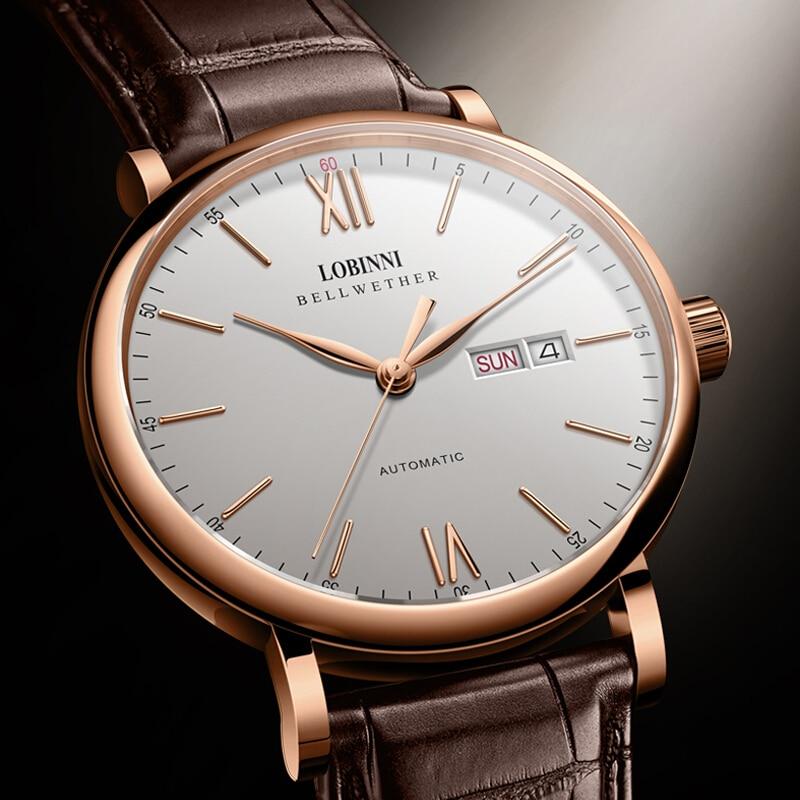 LOBINNI Watch Men Japan Miyota Automatic Mechanical Movement Luxury Brand Men s Watches Sapphire Waterproof relogio
