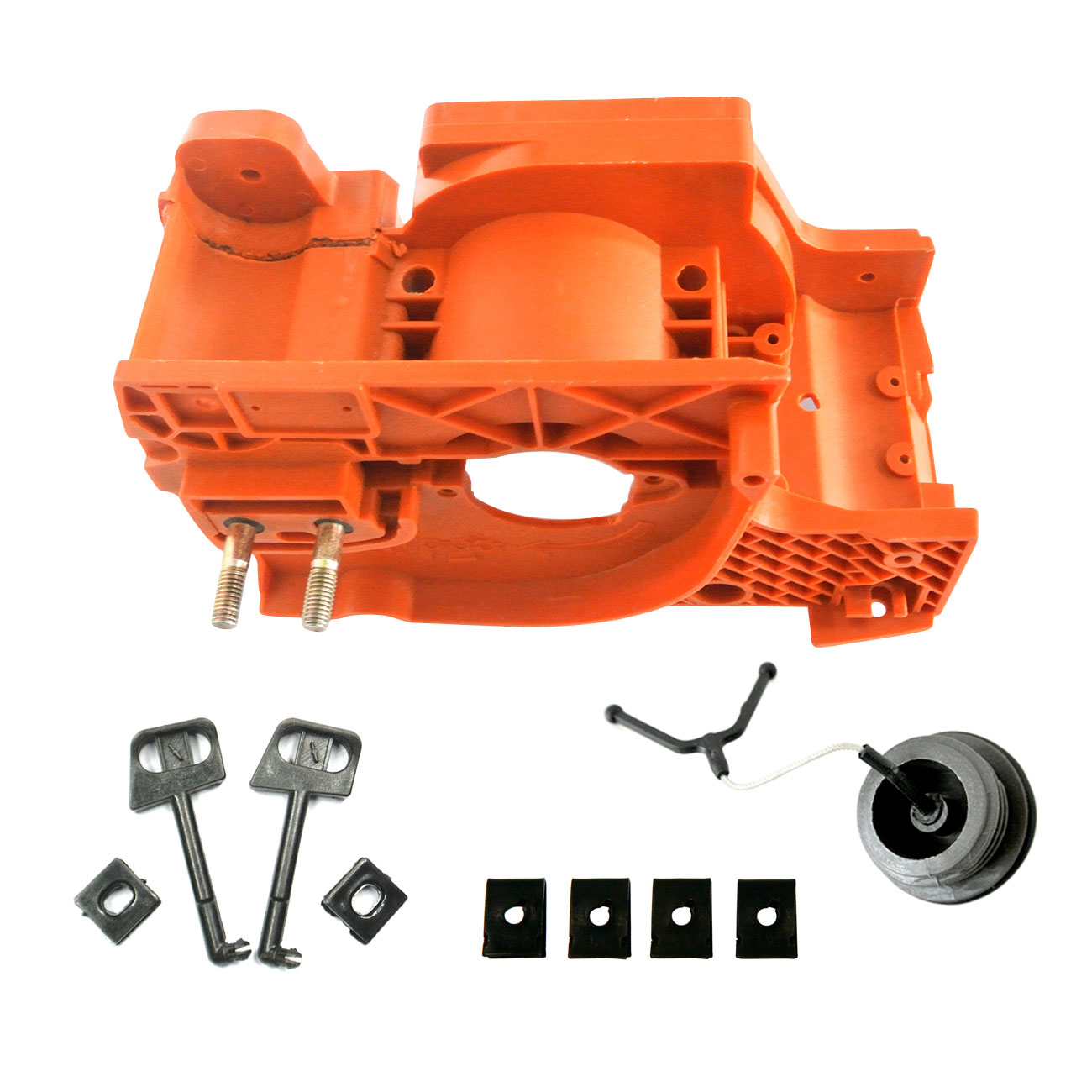 Crankcase Engine Housing Cover Fit For HUSQVARNA 137 142 Chainsaws Black