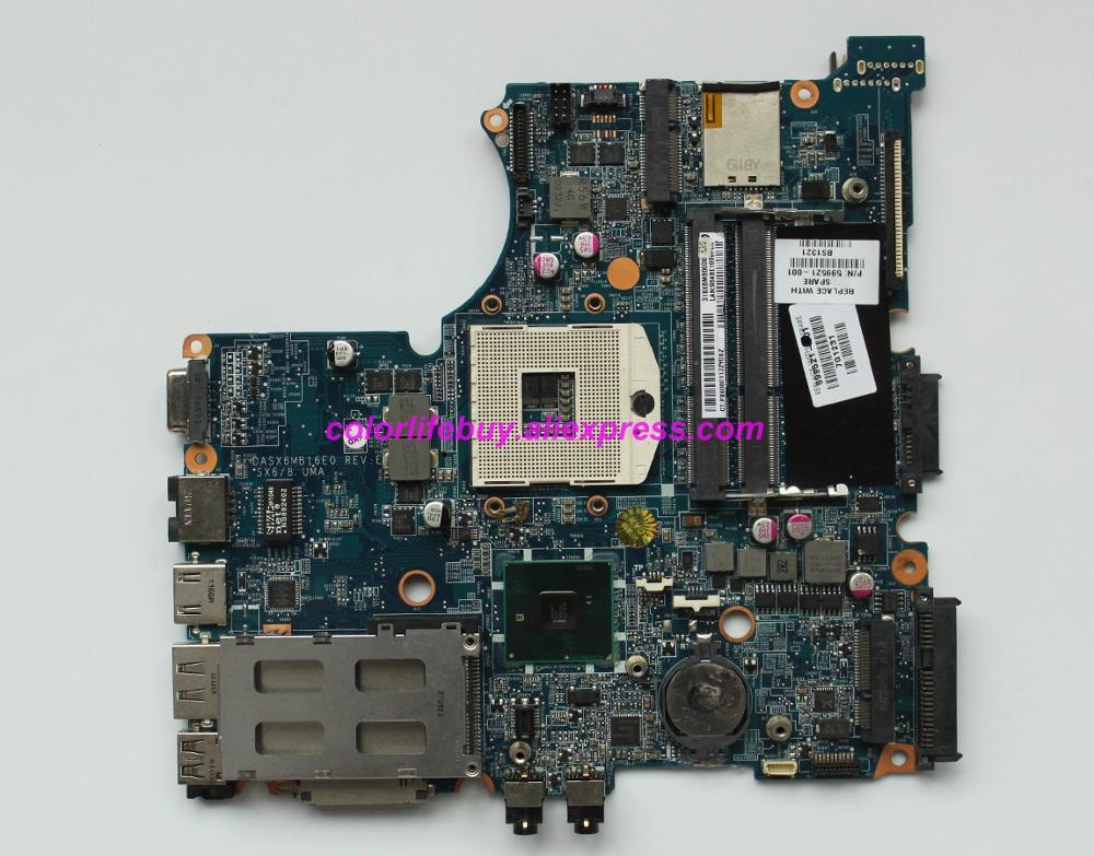 Подлинная 599521 001 DASX6MB16E0 UMA DDR3 Материнская плата ноутбука для hp 4320 s серии ноутбук ПК-in Материнская плата для ноутбука from Компьютер и офис on AliExpress - 11.11_Double 11_Singles' Day