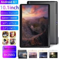 Tablet New MTK6797 10.1 inch Android 8.1 8+256G ten core dual card dual standby WiFi Bluetooth Camera Laptop Photography