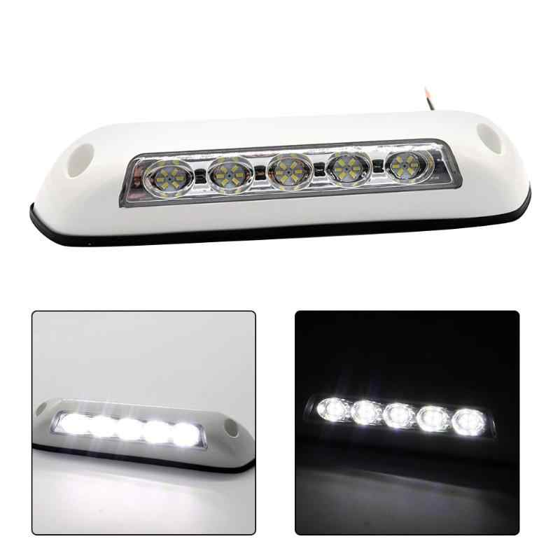 12V LED RV Tenda Lampu Teras IP67 Tahan Air LED Light untuk Laut Caravan Kemping Trailer Eksterior Camping Lampu