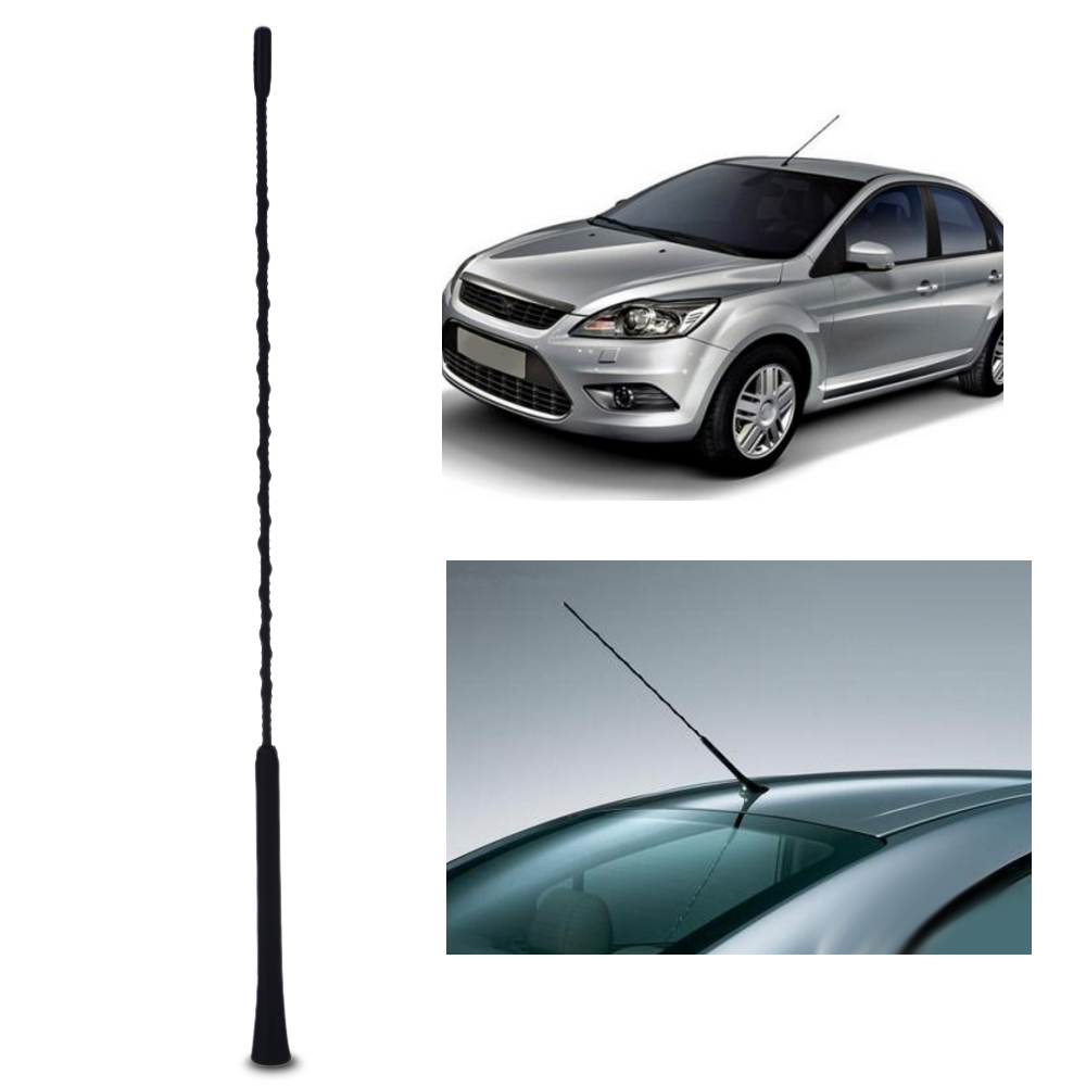 Auto 16/'/' CAR RADIO STEREO RUBBER AERIAL MAST ANTENNA Universal Brand NEW