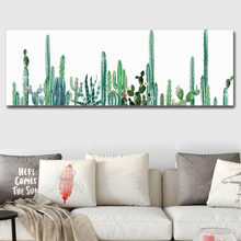 Canvas Art Print Poster,Green Wall Painting for Home Decoration,Grey Decoration Pictures Wall Art Decor(China)