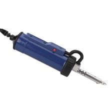 Новинка, 30 Вт, 220 В, 50 Гц, Электрический вакуумный припой, присоска, насос для распайки, инструмент для ремонта пайки с насадкой и буровой штангой