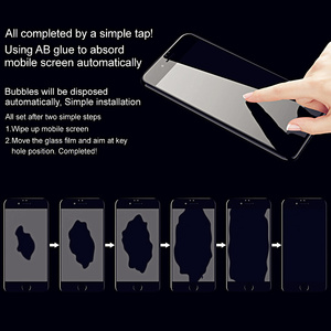 Image 2 - Imak 3D kavisli temperli cam Xiaomi Mi 10 Mi10 Pro Ultra oleofobik tam ekran panel tutkal