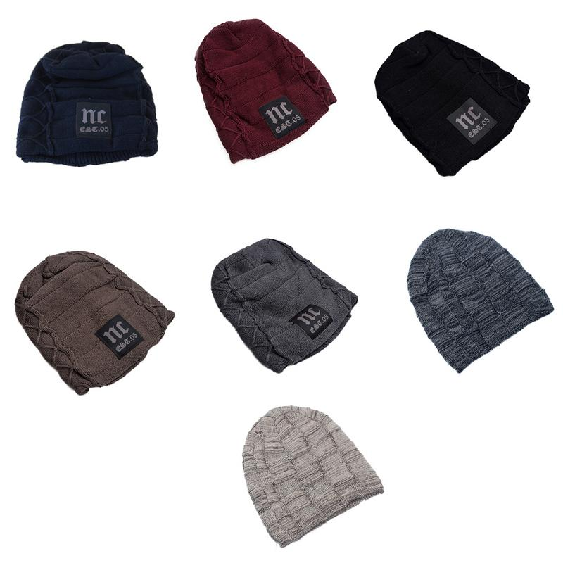 Autumn And Winter New Korean Labeling Knitted Hat Velvet Thermal Hat Creative Fashionable Men And Women Wool Hat