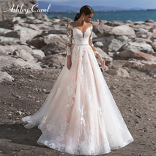 Ashley Carol Wedding Dress Long Sleeve Bride Dresses