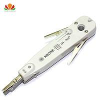 Krone lsa punch down tool 110 cortador de fio faca alicate telecomunicações para rj45 keystone jack cabo rede telefone módulo remendo painel Ferramentas de rede     -