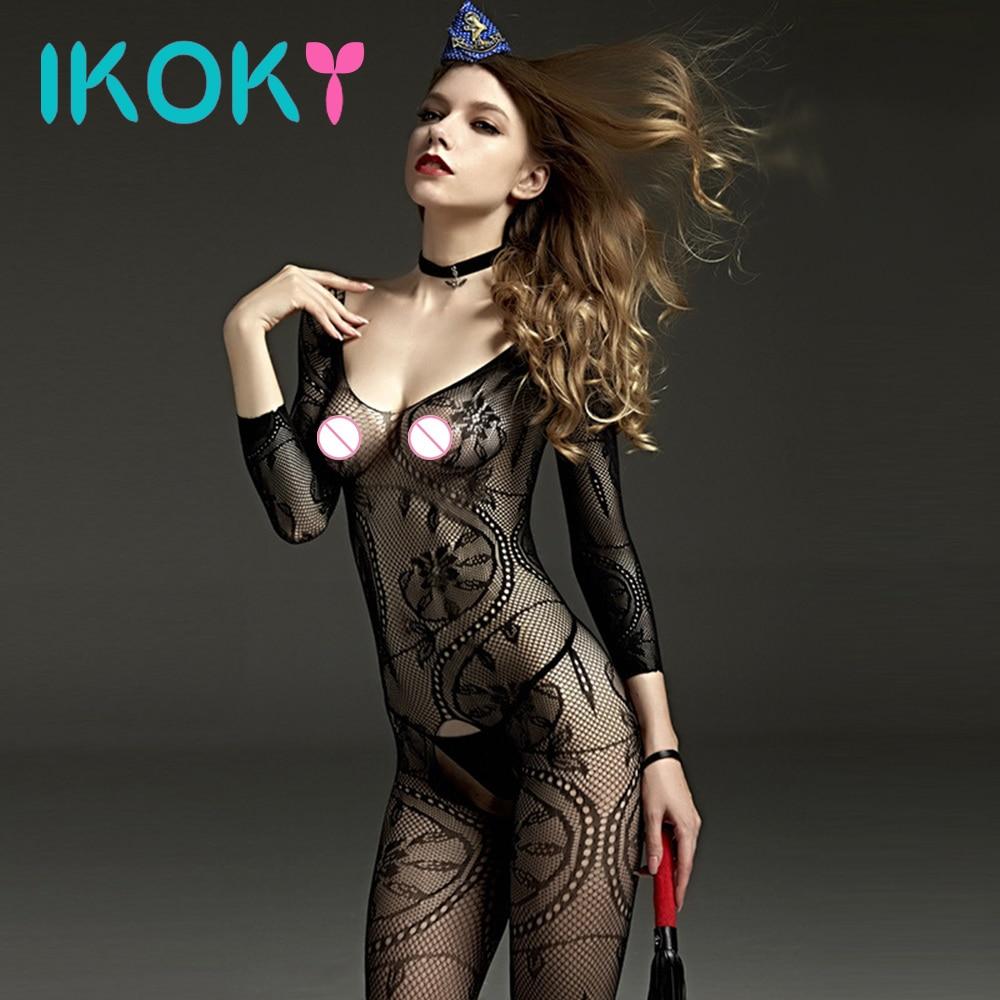Novelty More Roma Costume Maxi Length Satin Dress With High Slits Deep V Erotic Apparel Novelty More Women