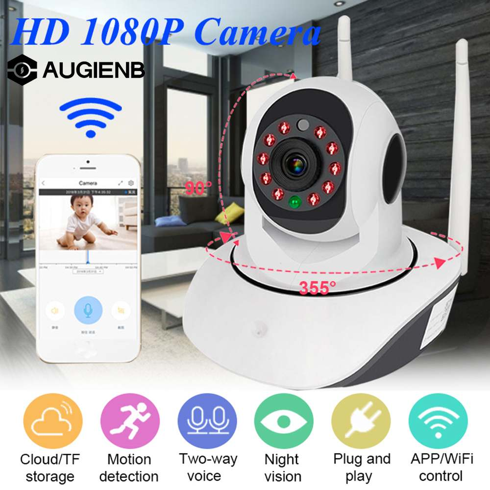 1080P 200W Intelligent Cloud Storage Surveillance Camera Mobile Network Wifi Remote Home Indoor Wireless Camera1080P 200W Intelligent Cloud Storage Surveillance Camera Mobile Network Wifi Remote Home Indoor Wireless Camera