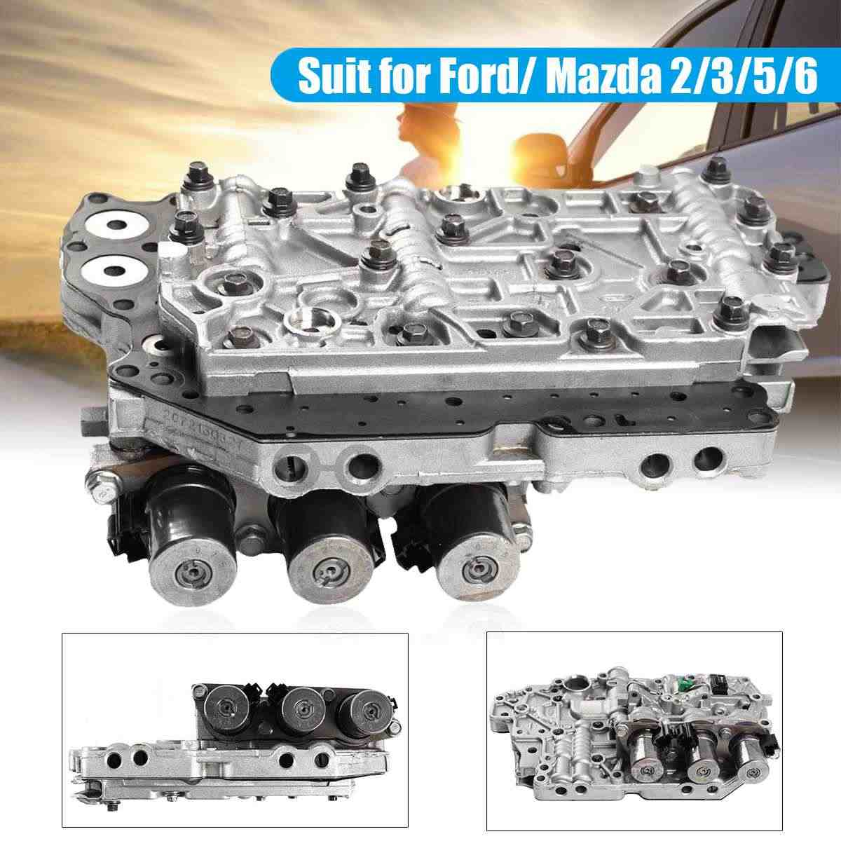 TF80SC AF21B AW6A EL Transmission valve body with all