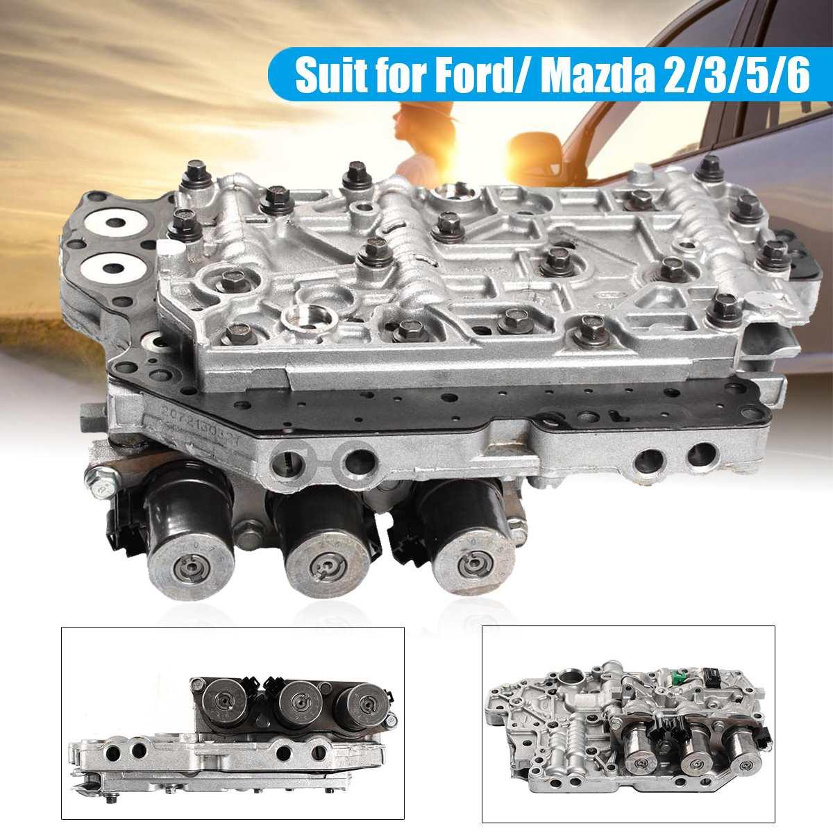 Corps automatique de Valve de Transmission 4F27E de 4 vitesses avec le solénoïde pour les pièces de Transmission automatiques durables de rechange en métal de Ford/Mazda