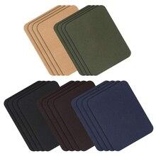 Заплаты 20 штук куртка джинсовая одежда набор заплат, 4,9X3,7 дюймов, темный ассортимент, 5 цветов