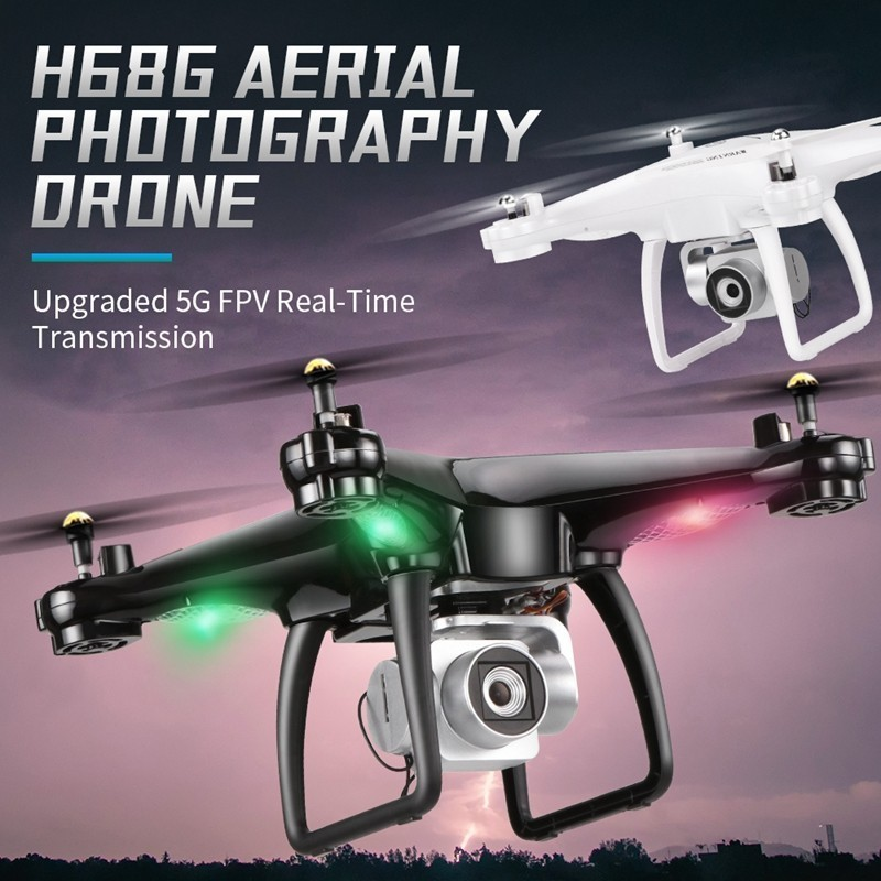 Original Newest Upgrade JJRC H68G RC <font><b>Drone</b></font> With 1080P HD Camera WiFi FPV Professional GPS <font><b>Drone</b></font> Great Capacity Battery vs <font><b>sg900s</b></font> image
