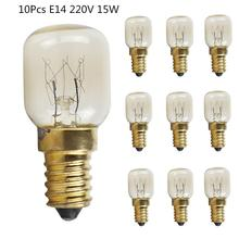 10Pc 15W/25W E14 220V 300 Degree High Temperature Resistant Microwave/Oven Bulb