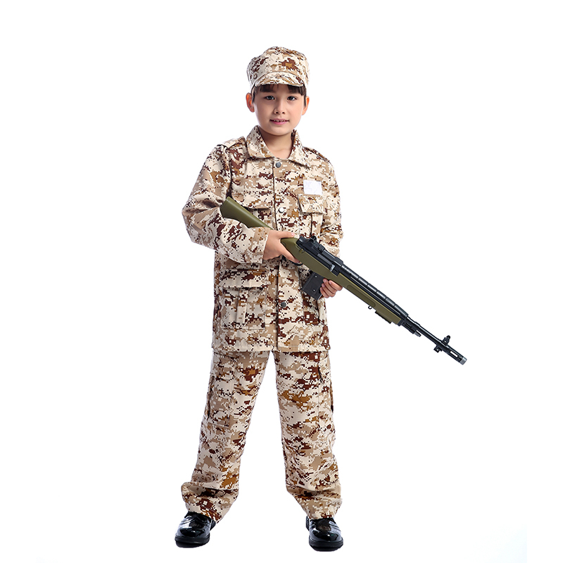 Hot Child Amy Camo Boys Military Uniform Perfect To Prepare For Next Battle During A Fancy Dress Costume Party Or Carnival