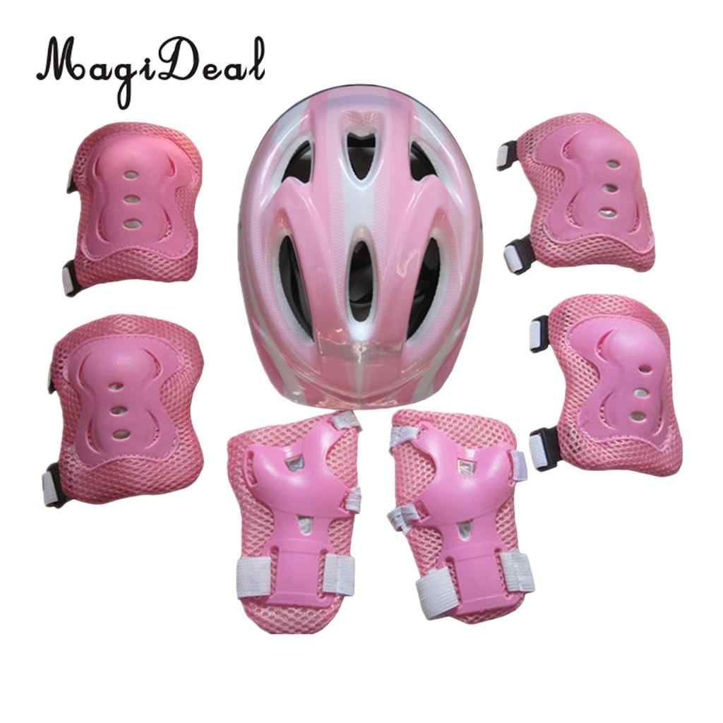 MagiDeal Kids Cycling Roller Skating Protector Gear Guard Set for Knee//Elbow