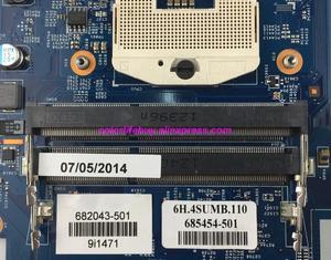 Image 3 - Genuine 682043 501 682043 001 682043 601 48.4ST04.021 HM77 Scheda Madre Del Computer Portatile Mainboard per HP DV7 DV7T Serie noteBook PC