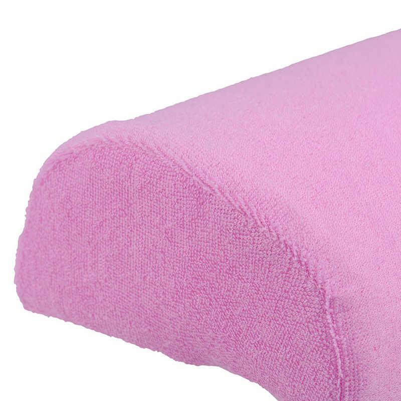 Profesional al azar Color suave apoyo de la mano almohada decoración de uñas diseño manicura cuidado salón media columna herramienta Venta caliente