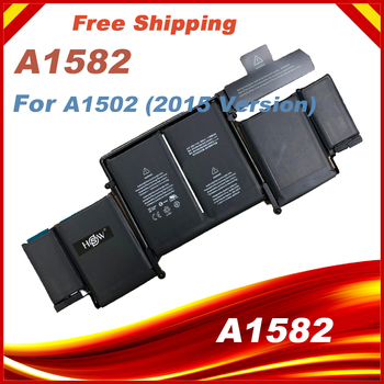 "74.9Wh 11.42V A1582 Battery For Apple Macbook Pro 13"" Inch Retina A1502 2015 Year ME864 ME865 6559mAh"