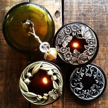 Home Supplies / Vintage Metal Candle Accessories Exquisite Elegant Aromatherapy Smart Cap Hat