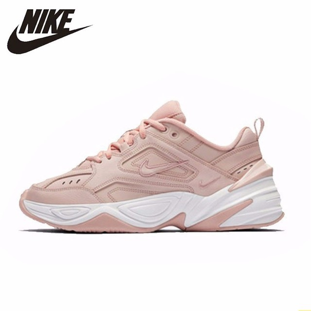 super popular 5f46e 76aeb Nike M2K TEKNO Original New Arrival Women Light Running Shoes New Outdoor  Sports Breathable Comfortable Sneakers AO3108