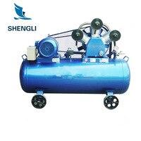 メーカー直接空気圧縮機車のタイヤ 220 V/380 V 産業家庭用スプレーペイント銅空気圧縮機 -